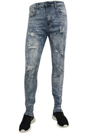 Moto Skinny Fit Denim Light Acid (M4466D)