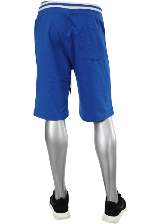 Jordan Craig Ribed Shorts Royal (8993S 22S)