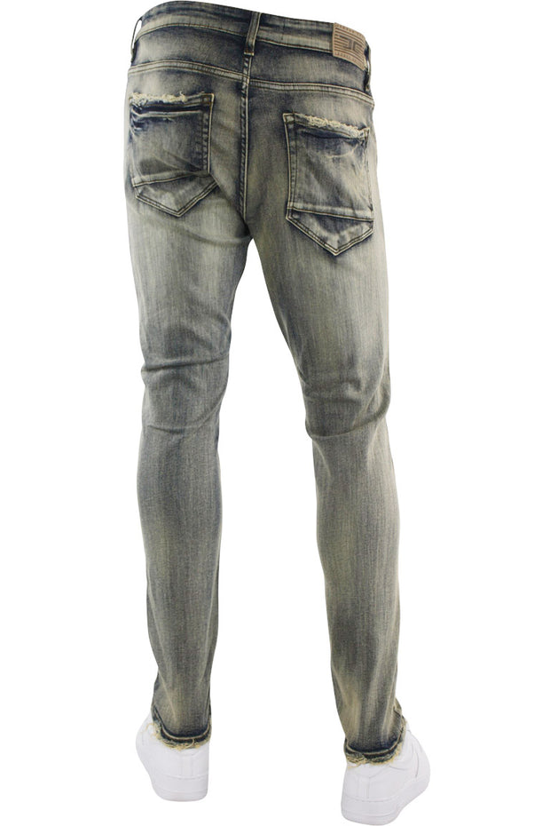 Jordan Craig Faded Wash Denim Bison (JM3311 22S) - Zamage