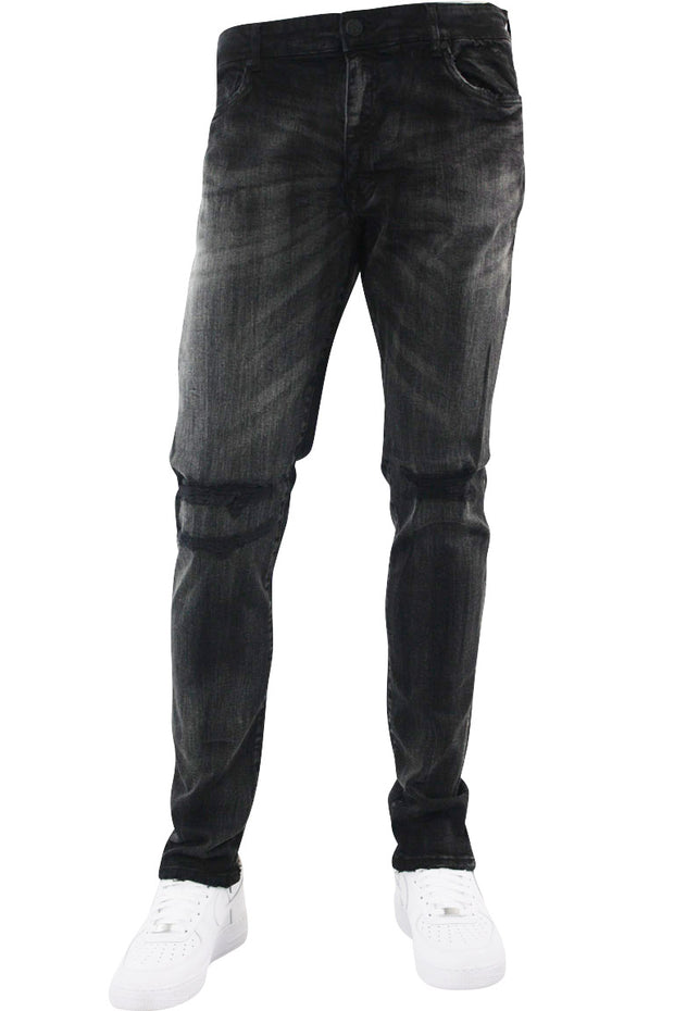 Jordan Craig Faded Wash Denim Black (JM3311 22S) - Zamage