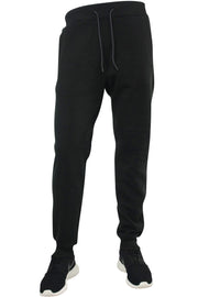 Basic Fleece Joggers Black (1520) - Zamage