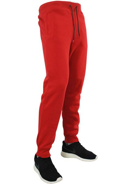 Basic Fleece Joggers Red (1520 22S)