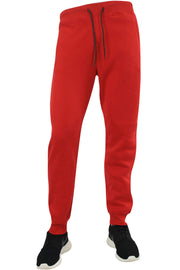 Basic Fleece Joggers Red (1520) - Zamage