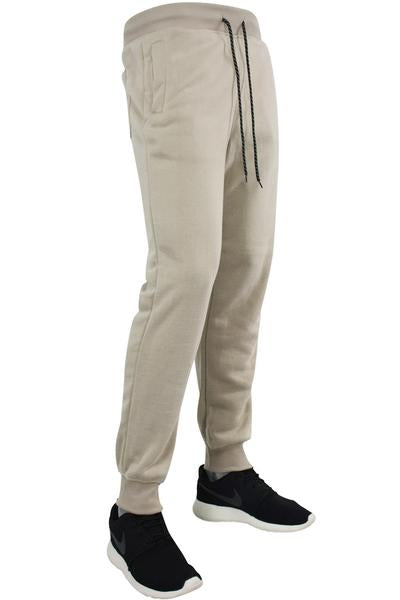 Basic Fleece Joggers Light Beige (1520 22S)