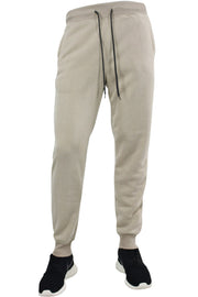 Basic Fleece Joggers Light Beige (1520) - Zamage