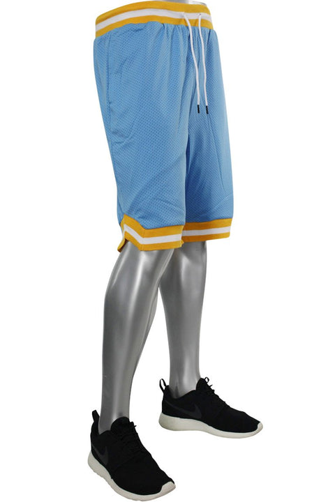 Solid Taping Mesh Shorts Sky Blue (191-920 22S)