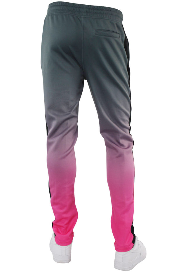 Dip Dye Track Pants Dark Grey (1A1-403) - Zamage