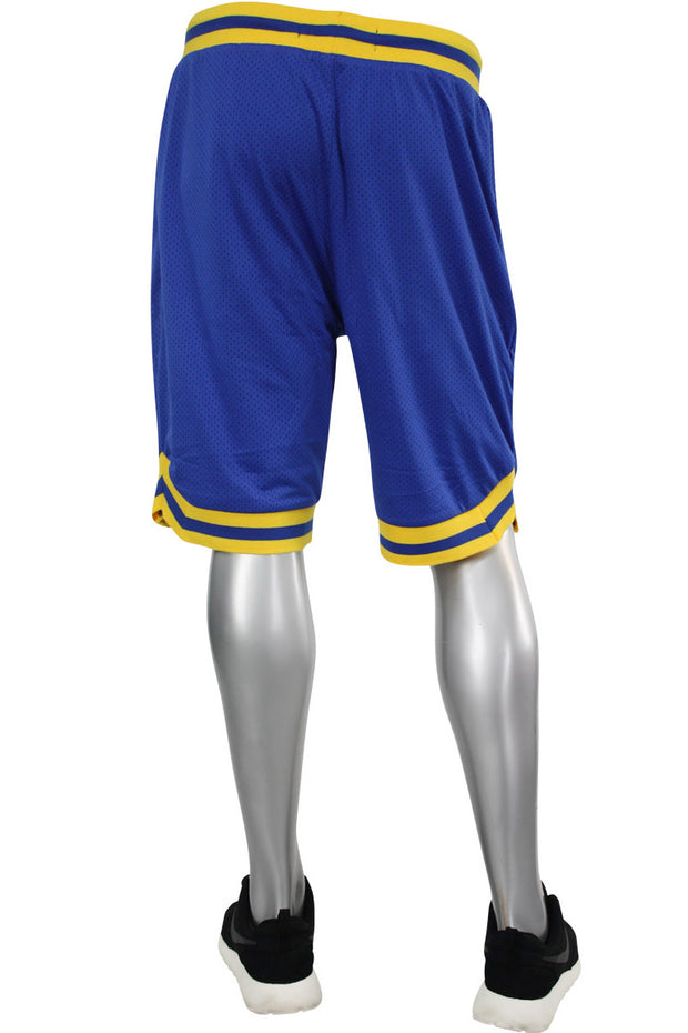 Solid Taping Mesh Shorts Royal (191-920)