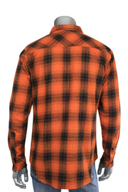 Jordan Craig Woven Shirt Orange (2543 22S) - Zamage