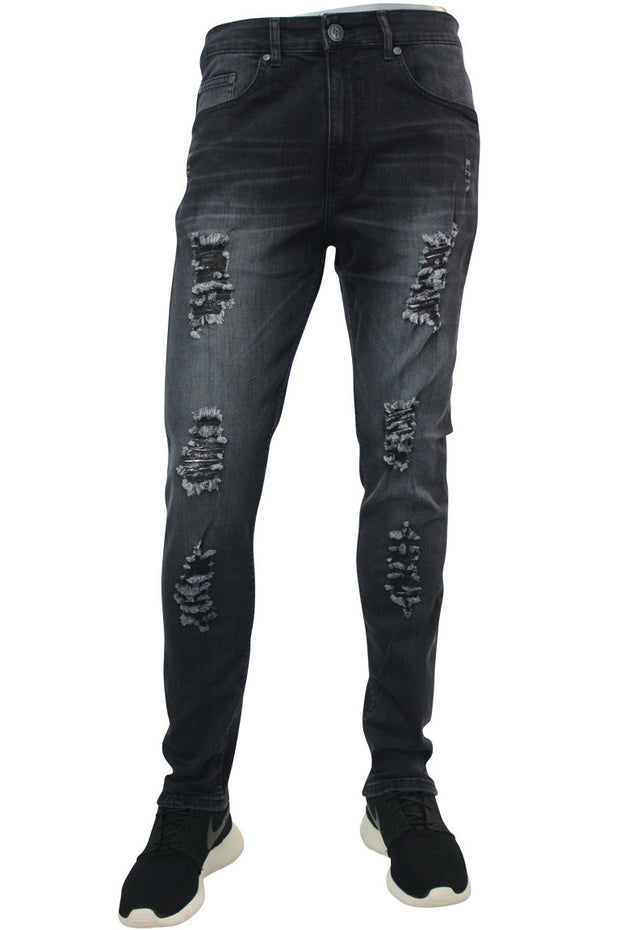 Skinny Fit Denim Black Wash (M4471DA)