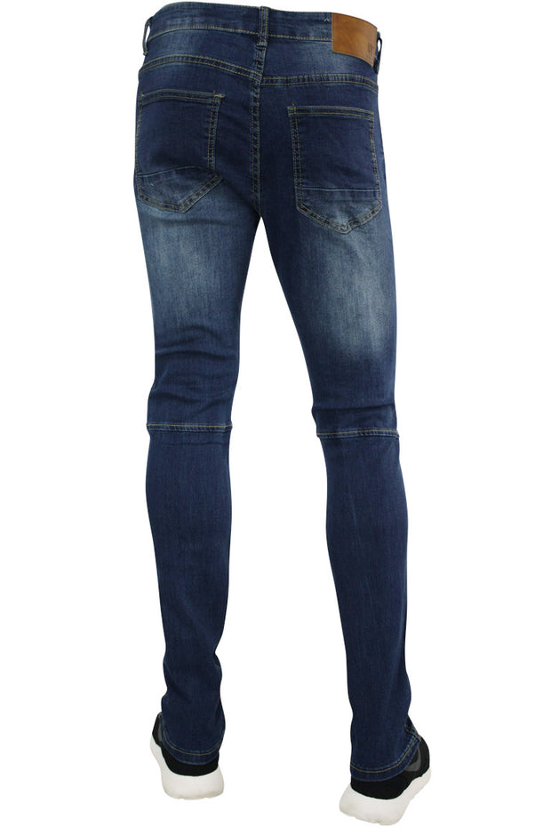 Skinny Fit Denim Medium Blue (AOM4495D)
