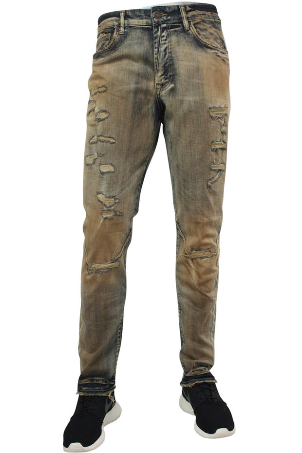 Jordan Craig Varsity Shredded Denim Copper Wash (JM3248 22S)