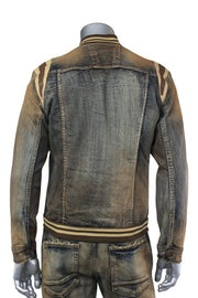 Jordan Craig Varsity Jacket Copper Wash (91386 22S)
