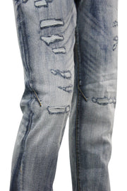 Jordan Craig Varsity Shredded Denim Aged Wash (JM3248 22S)