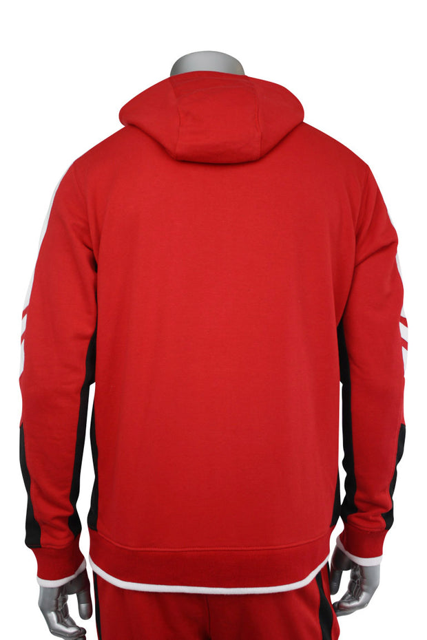 Jordan Craig Color Block Hoodie Red (8316HA 22S) - Zamage