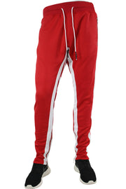 Jordan Craig Dual Stripe Track Pants Red - White (8333 22S) - Zamage