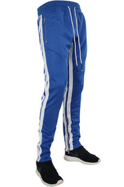 Jordan Craig Dual Stripe Track Pants Royal - White (8333 22S) - Zamage
