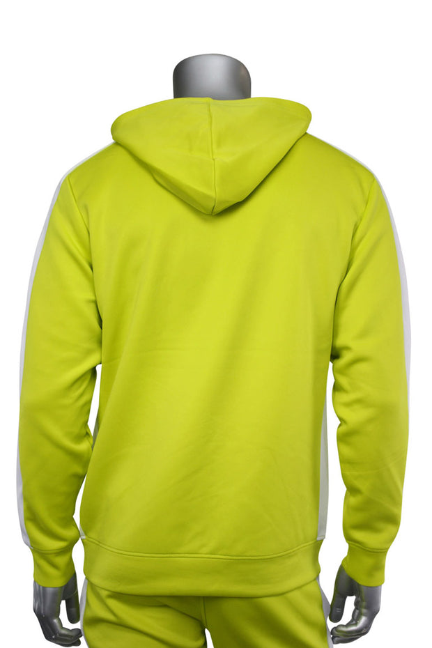 Pullover Track Hoodie Lime (100-301)