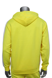Pullover Track Hoodie Neon Yellow (100-301)