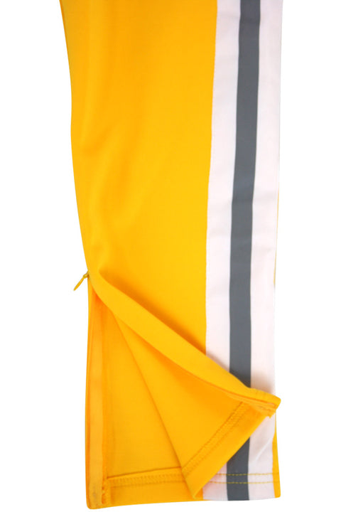 Reflecive Tape Track Pants Yellow (100-410)