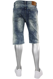 Arctic Denim Shorts Acid Wash (M7127D) - Zamage