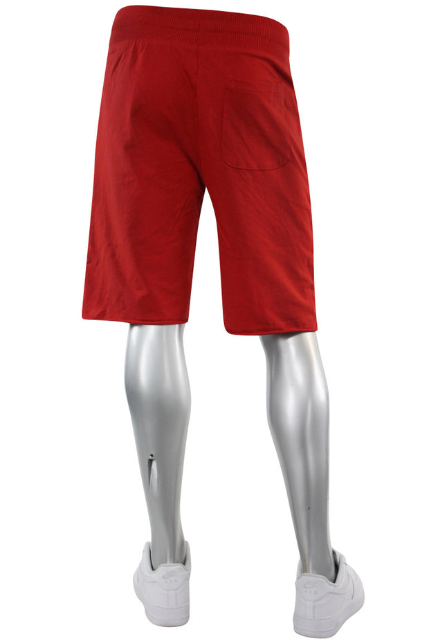 Jordan Craig French Terry Shorts Red (8350S 22S) - Zamage