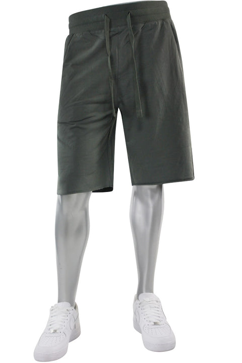Jordan Craig French Terry Shorts Charcoal (8350S 22S) - Zamage