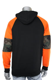 Half Zip Tech Fleece Hoodie Woodland (82-303) - Zamage