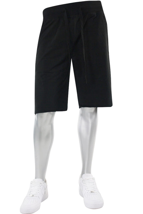 Jordan Craig French Terry Shorts Black (8350S 22S) - Zamage