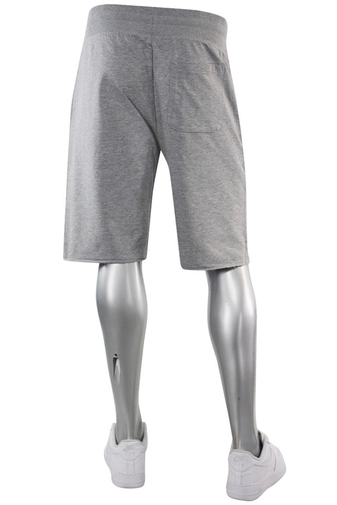 Jordan Craig French Terry Shorts Heather Grey (8350S 22S) - Zamage