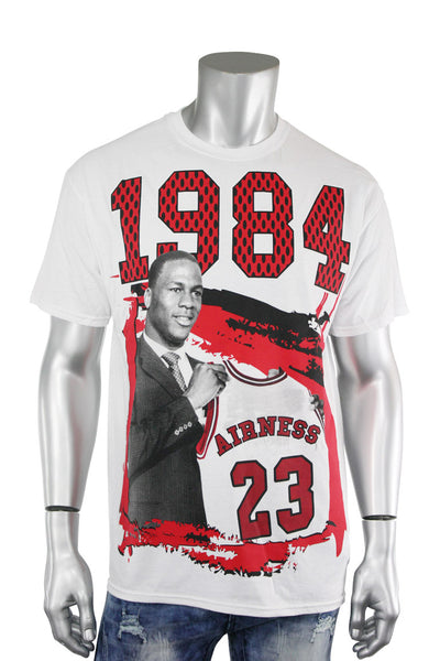 1984 Jordan Airness Tee White (JORDAN 22S) - Zamage