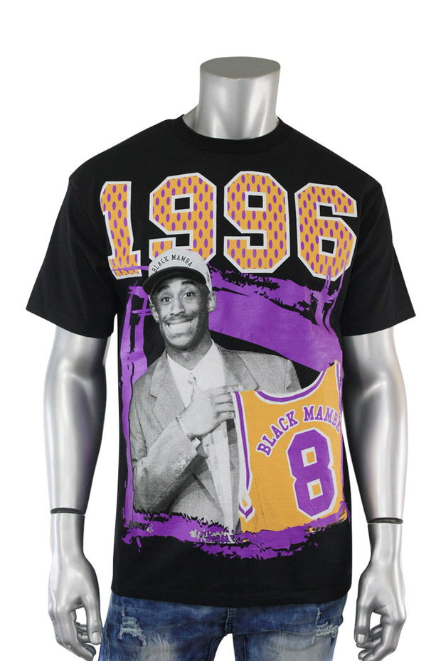 Mamba Draft Day Tee Black (MAMBA 22S)