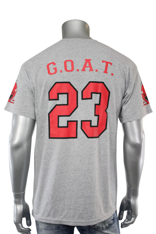 Bully Goat Tee Grey (Bully 22S) - Zamage