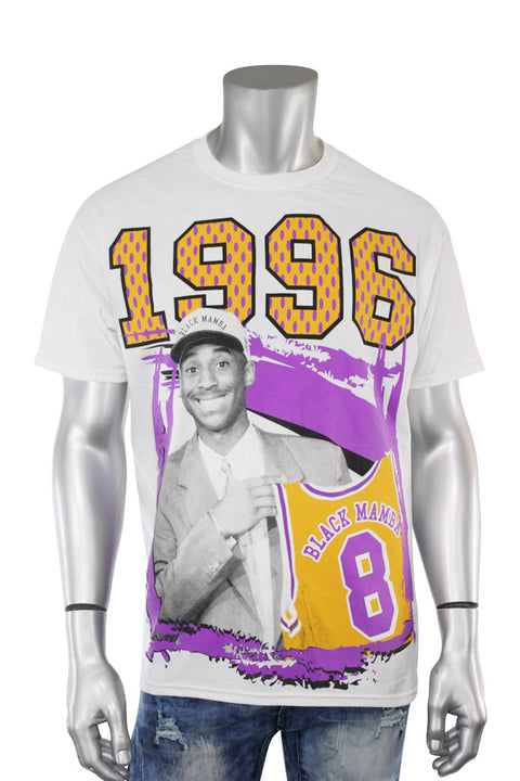 Mamba Draft Day Tee White (MAMBA 22S)