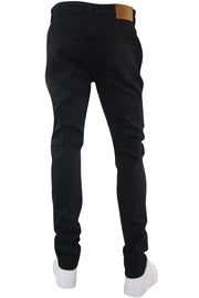 Multi Style Backin Skinny Fit Denim Black (M4666D)