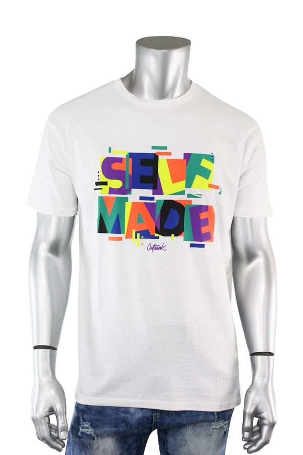 Self Made Shapes Tee White (OR786 22S)