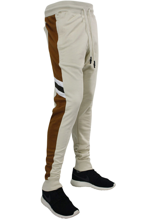 Jordan Craig Striped Color Block Joggers Desert (8337 22S)
