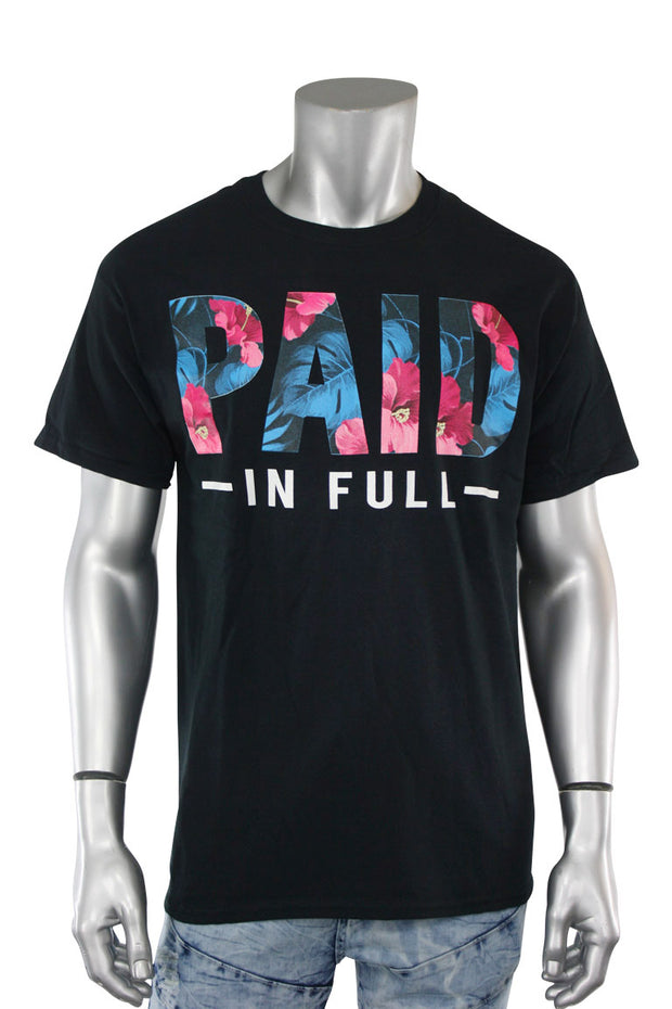 Paid In Full Tee Black (8309)