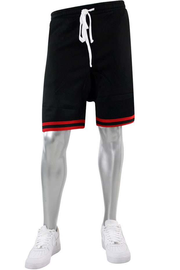 Zip Pocket Track Shorts Black (1A1-910)