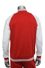Jordan Craig Tricot Track Jacket Red - White (8330T 22S)