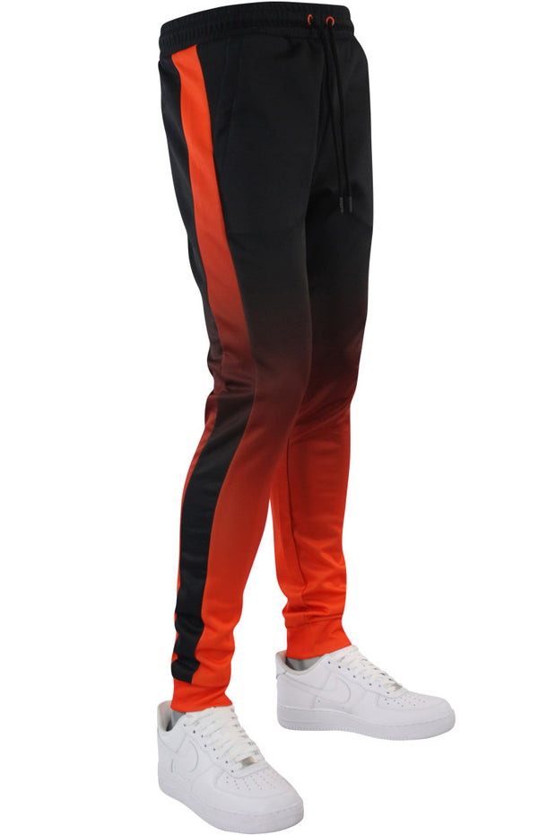 Dip Dye Track Joggers Orange (192-471) - Zamage