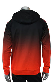 Dip Dye Full-Zip Hoodie Orange (192-571) - Zamage