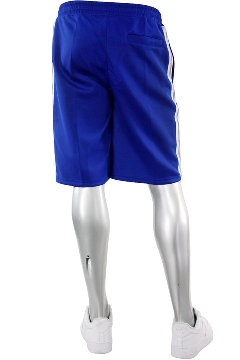 Reflective Taping Track Shorts Royal Blue (1A1-902)