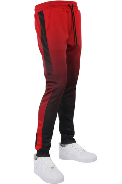 Dip Dye Track Joggers Red (192-471) - Zamage