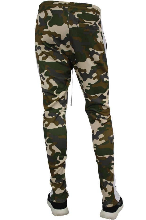 Side Stripe Camo Track Pants Mud Camo (1914)