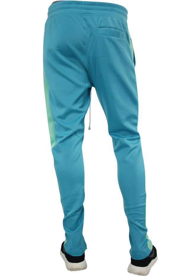 Side Stripe Track Pants Teal (1914)