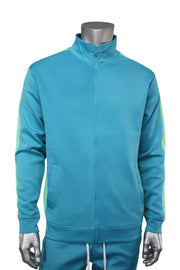 Side Stripe Track Jacket Teal (1915)