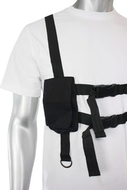 Multi Pocket Utility Tee White (192-122)