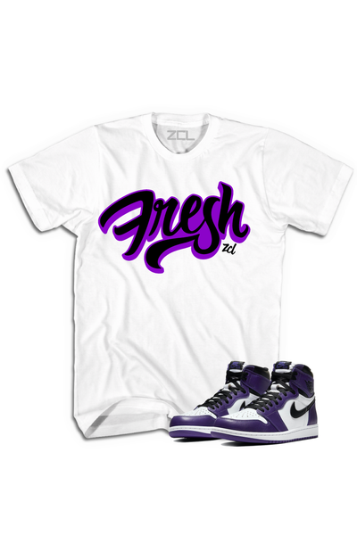 "Air Jordan 1 Retro High OG ""Fresh"" Tee Court Purple"