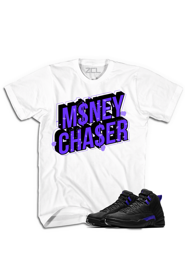 "Air Jordan 12 ""Money Chaser"" Tee Dark Concord - Zamage"